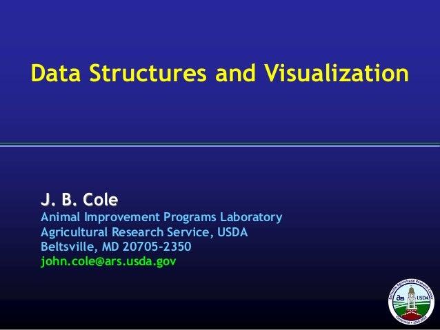 J. B. Cole Animal Improvement Programs Laboratory Agricultural Research Service, USDA Beltsville, MD 20705-2350 john.cole@...