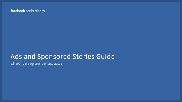 Facebook Ad Changes & Updates - 10 Sept 2013