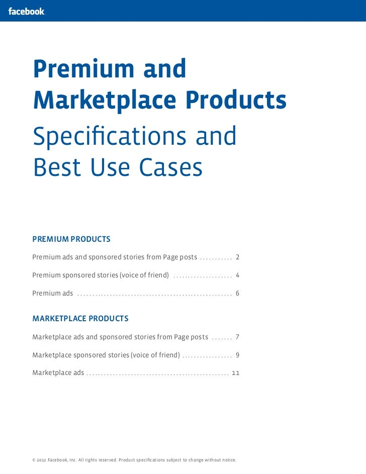 Premium andMarketplace ProductsSpecifications andBest Use CasesPREMIUM PRODUCTSPremium ads and sponsored stories from Page ...