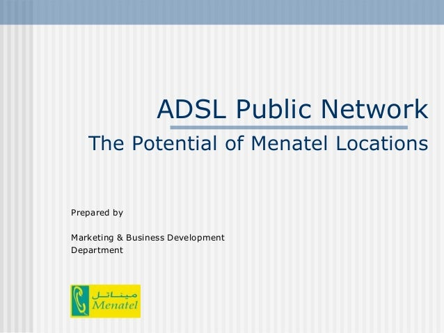 Adsl public network