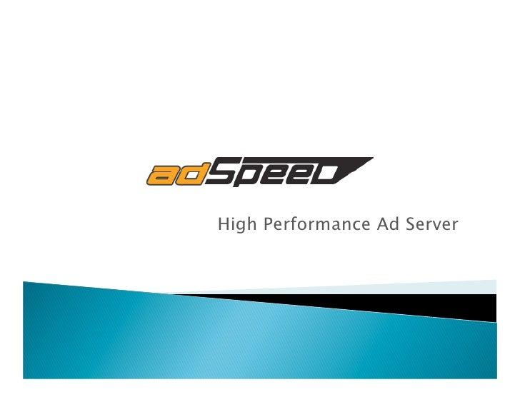 High Performance Ad Server