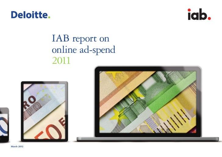 interactiv                               advertisin                               bureau             IAB report on        ...
