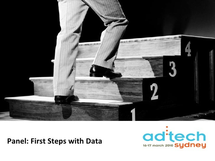 Panel: First Steps with Data