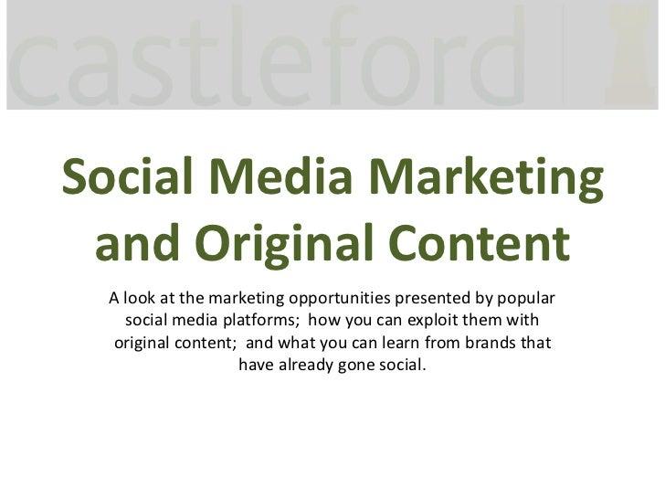 Social Media Marketing, ad:tech Sydney 2011