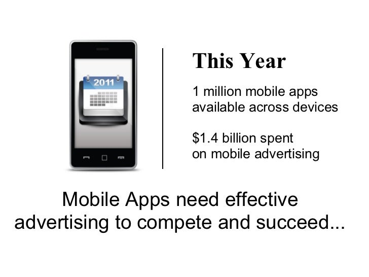 This Year                   1 million mobile apps                   available across devices                   $1.4 billio...