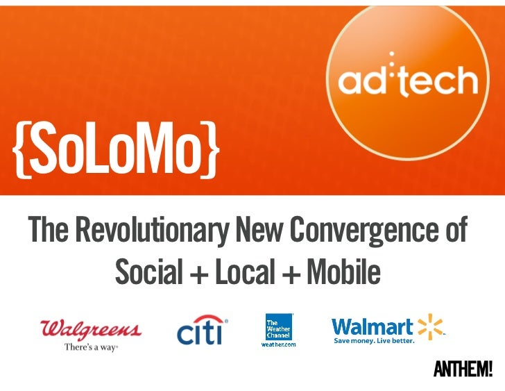 Ad:Tech SF SoLoMo Presentation