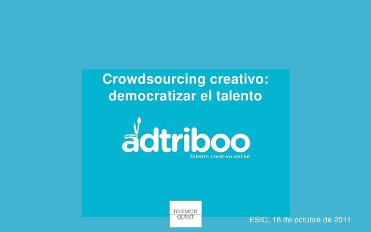 Adtriboo. Revolucion Digital 18 de octubre
