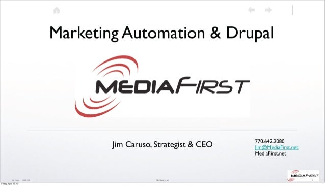 Marketing Automation & Drupal