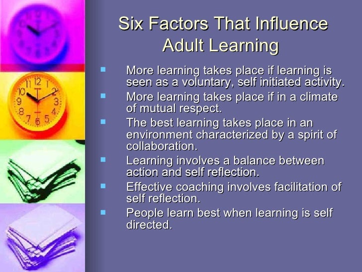 factors motivating adult learners essay
