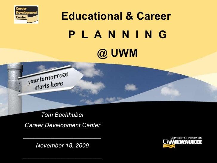Adult Learner Career Planning