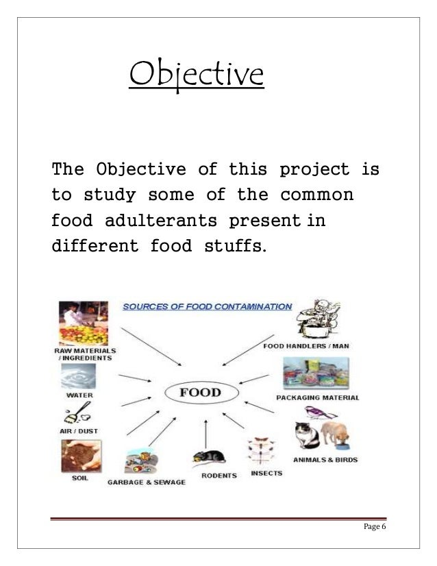 Conclusion of food adulteration essays