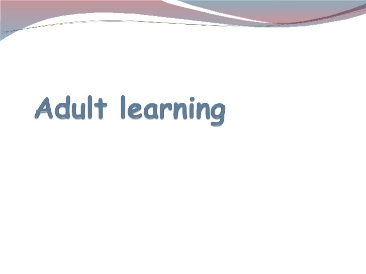 Adult learning (3)