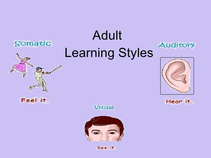 Learning styles adult literacies