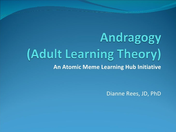 adult learning theory essay