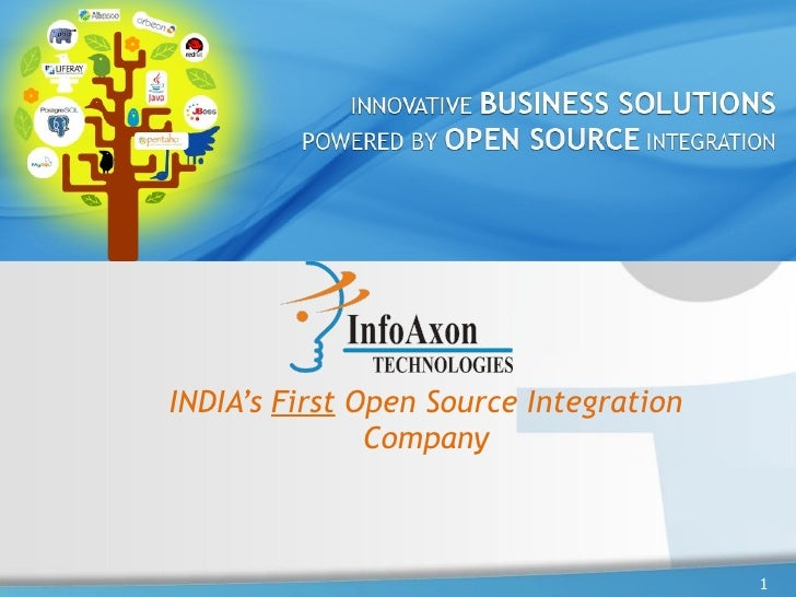 INDIA's  First  Open Source Integration Company