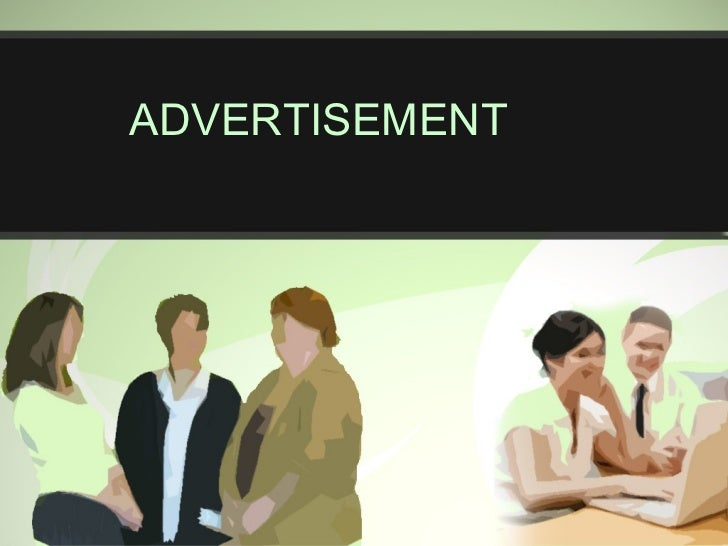 Advertisement ppt