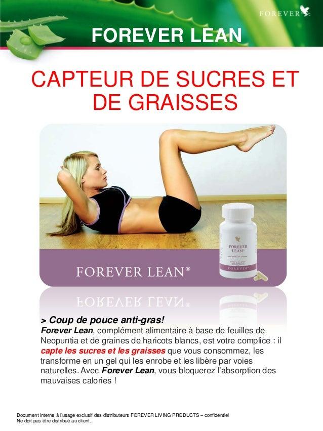 TM CAPTEUR DE SUCRES ET DE GRAISSES > Coup de pouce anti-gras! Forever Lean, complément alimentaire à base de feuilles de ...