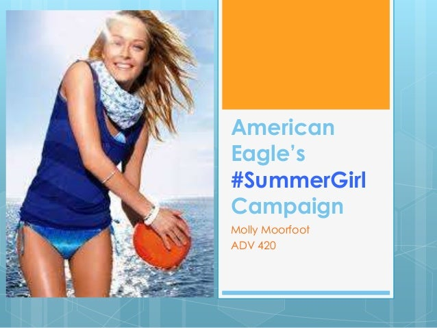 American Eagle's #SummerGirl Campaign Molly Moorfoot ADV 420