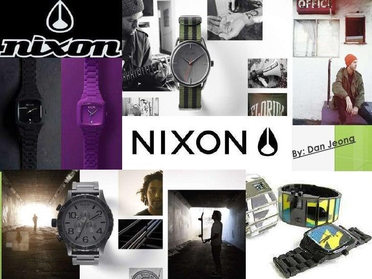 Adv 420 nixon presentation Dan Jeong