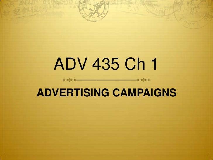 Adv 435 ch 1