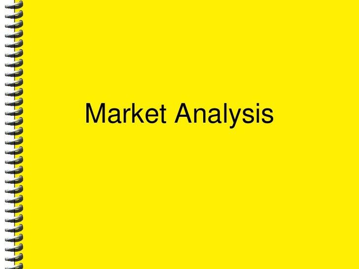 Market Analysis<br />