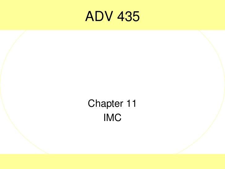 Adv 435 ch 8 imc