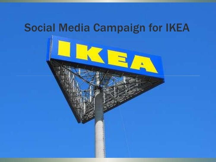 Social Media Campaign for IKEA