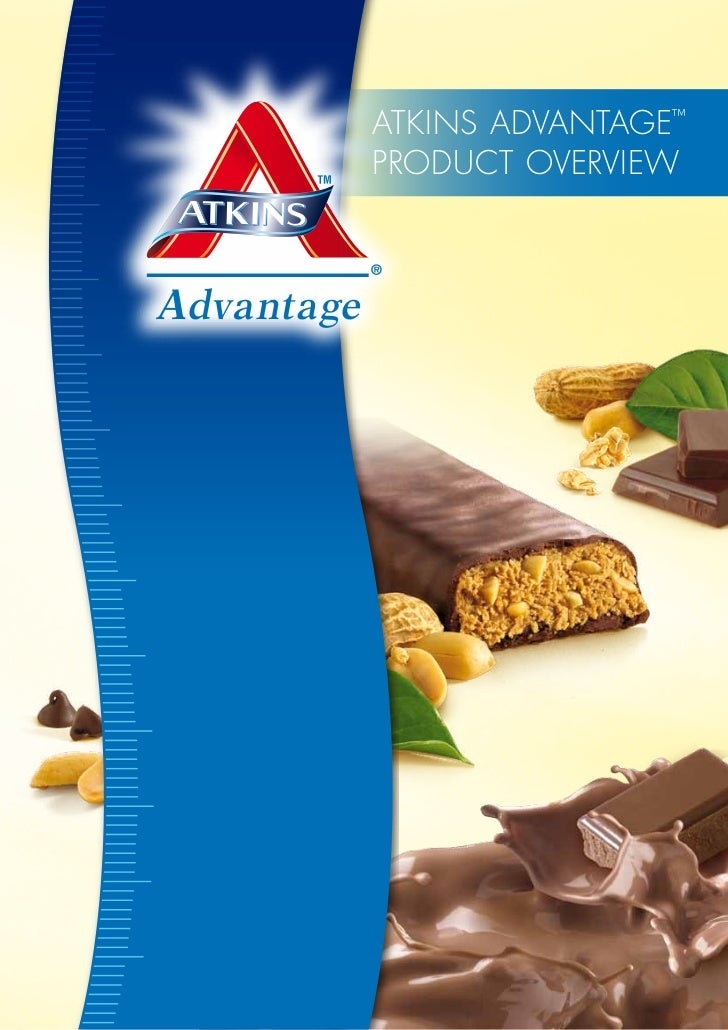 Atkins AdvAntAge™PROdUCt OveRvieW