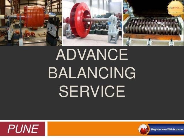Advance Balancing Service