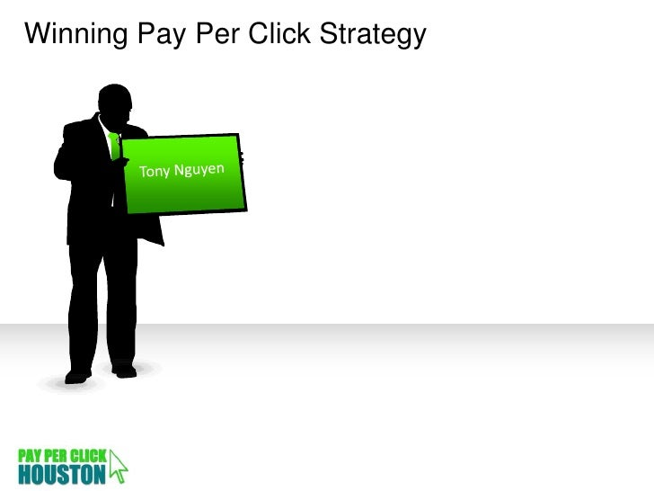 Advance Pay Per Click Strategy