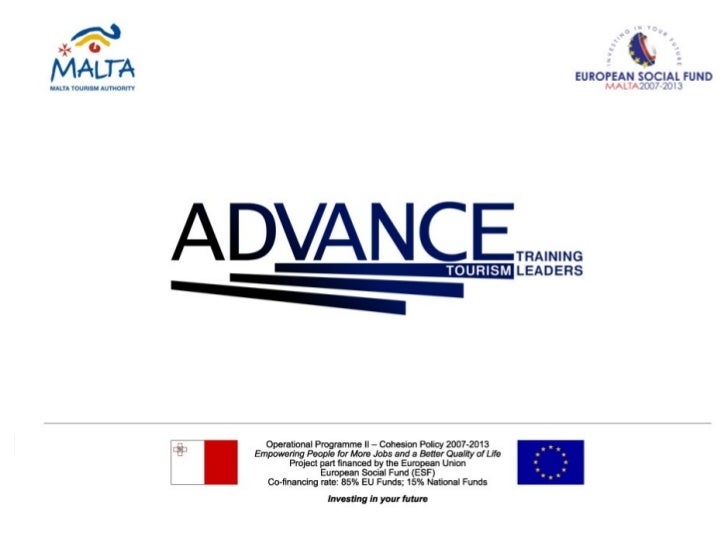 ADVANCE Tourism Customer Management Session 1, March 2012