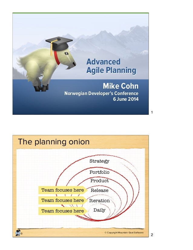 Advanced Agile Planning - NDC 2014