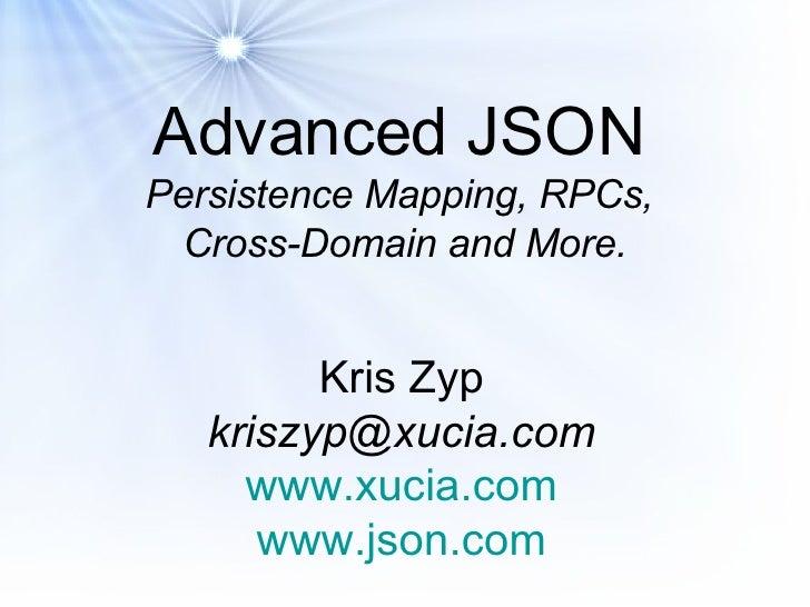 Advanced Json