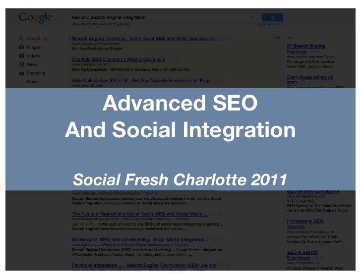 Advanced SEO And Social Media Integration
