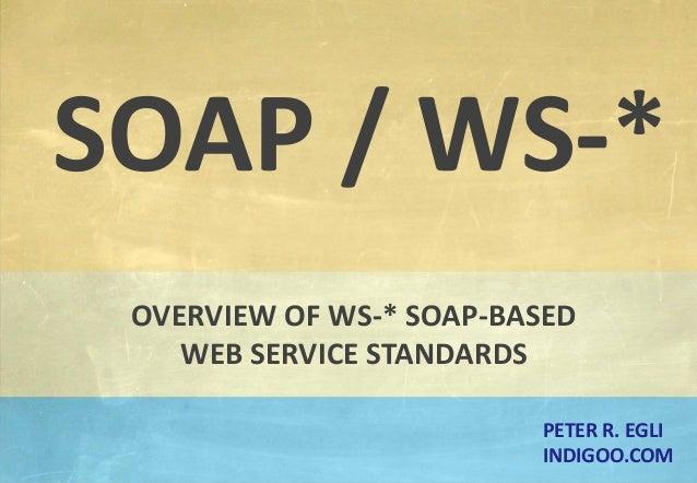 Advanced SOAP-Web-Service topics