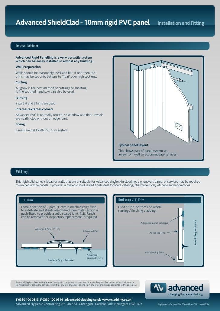 Advanced ShieldClad - 10mm rigid PVC panel                                                                                ...