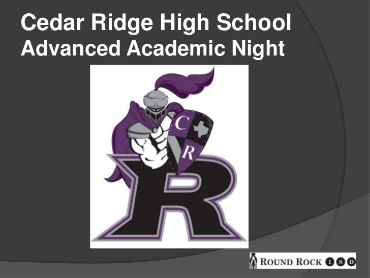 Advanced academic night