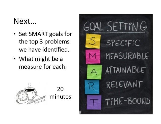 Organize your days around your goals