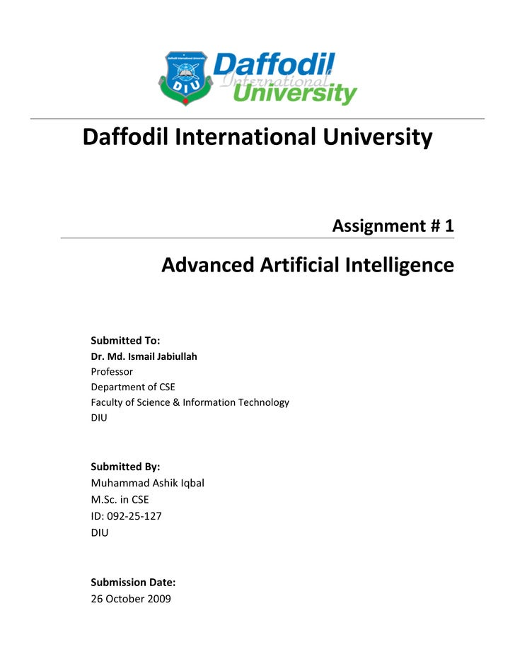 Advanced Artificial Intelligence