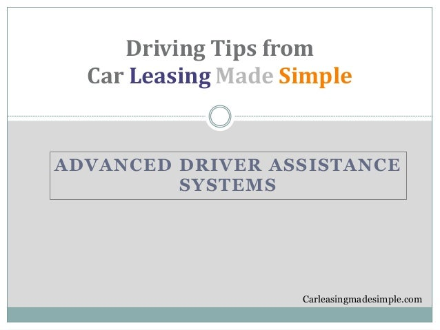 advanced driver assistance systems. Black Bedroom Furniture Sets. Home Design Ideas