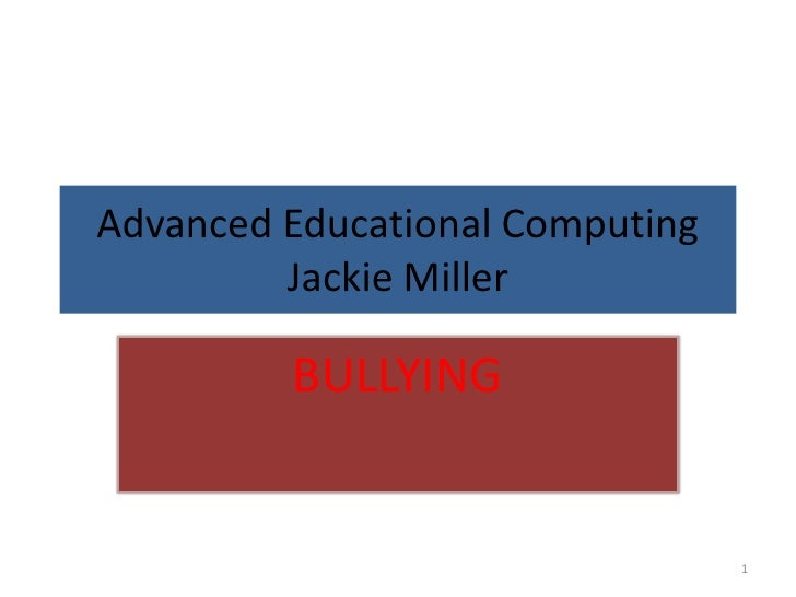 Advanced educational computing