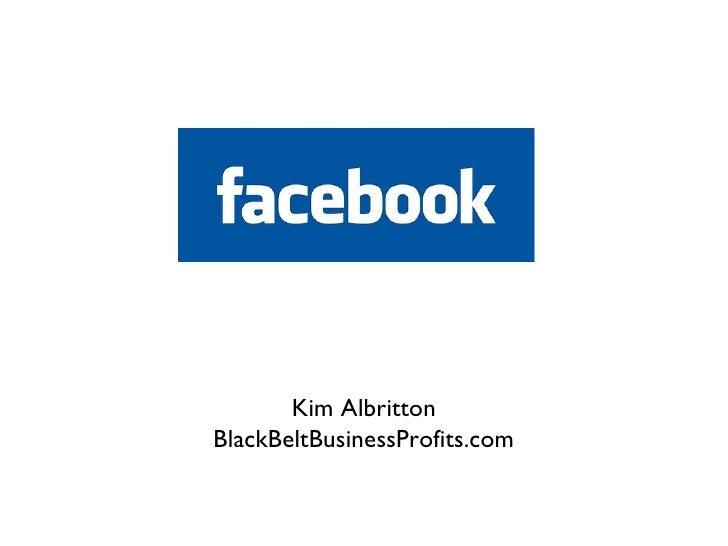 Advanced Facebook Strategies