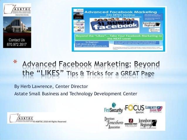 Advanced Facebook Marketing Workshop Jonesboro, AR