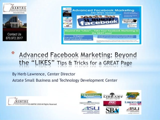 Advanced facebook seminar mountain home 2013