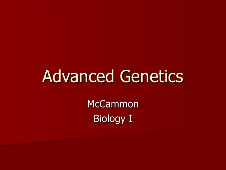 Genetics Part 2