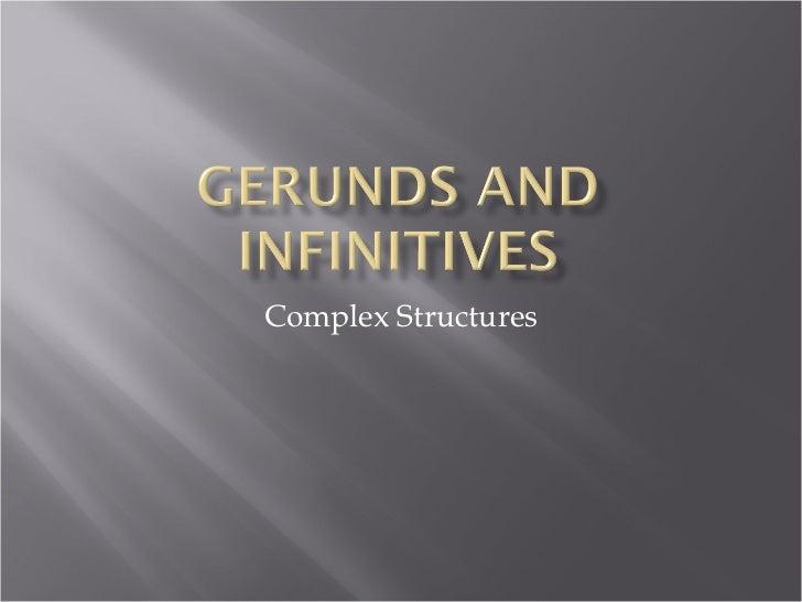 Advanced gerund inf