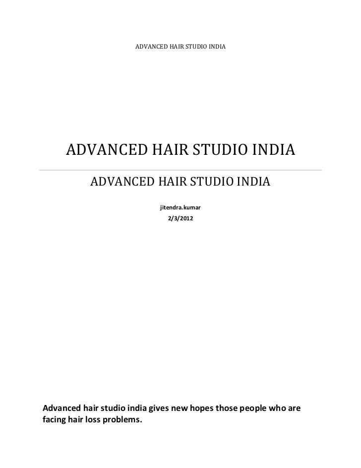 ADVANCED HAIR STUDIO INDIA     ADVANCED HAIR STUDIO INDIA           ADVANCED HAIR STUDIO INDIA                            ...