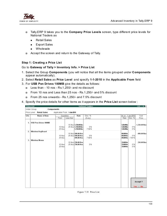 Tally practical assignment
