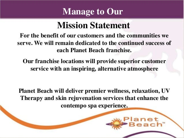Advanced management operations for A mission statement for a beauty salon