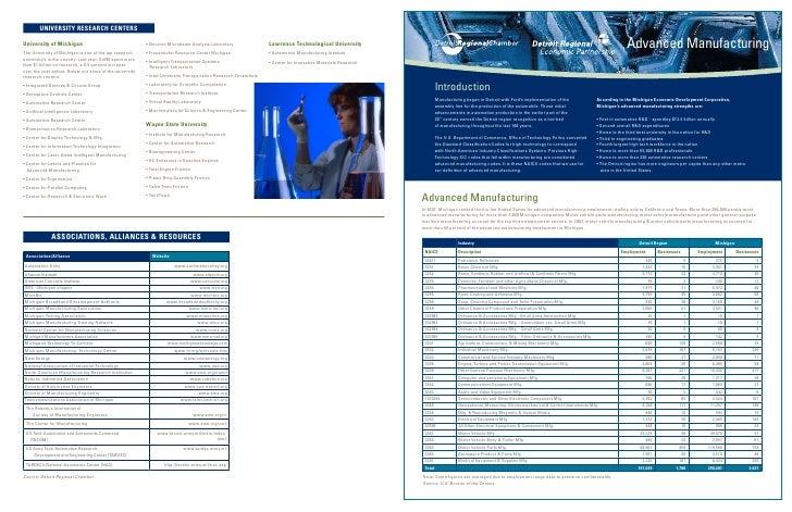 DREP-Advanced Manufacturing